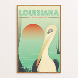The Pelican State Poster