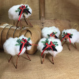 Cotton Sheep Ornament