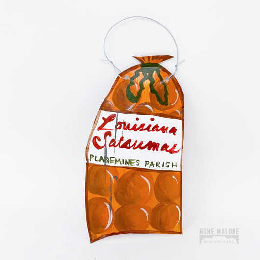 Bag of Satsumas Ornament