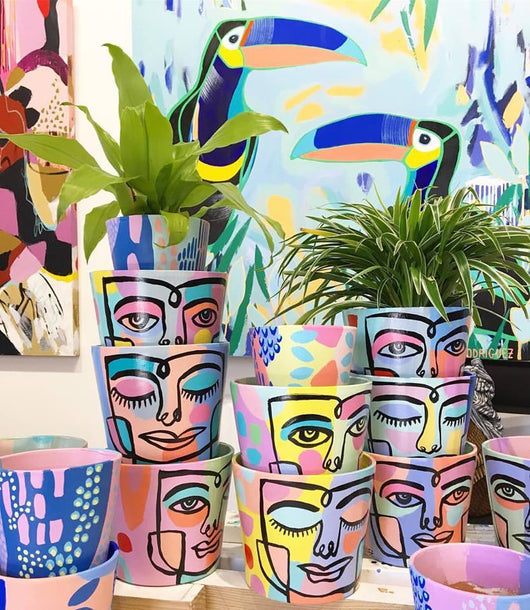 Peace Planter | Faces