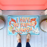 I Hope You Brought Crawfish Spring Door Mat Decorative Kitchen Floor Mat Home Malone