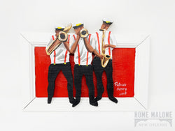 2D Brass Band Art