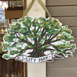 *Scratch & Dent* City Park Oak Tree Door Hanger