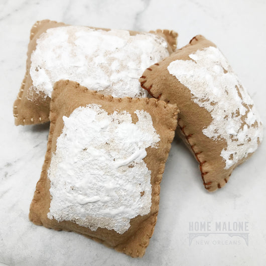 Felt Play Beignets: Set of 3