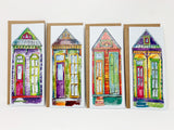 Skinny House Card Set