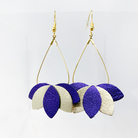 Golden Girl Dangle Earrings