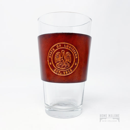 LA State Seal Pint Glass