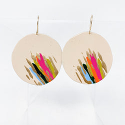Round Party Earrings
