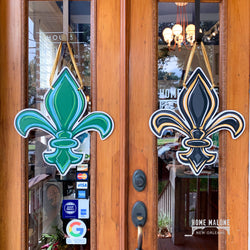 Double Sided FDL Door Hanger: Tulane/Saints