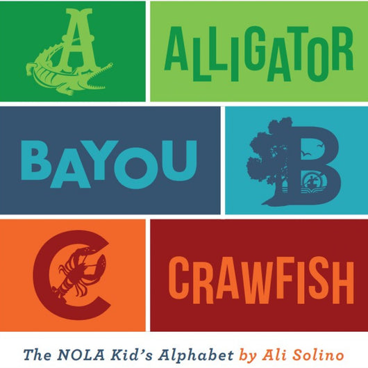Alligator, Bayou, Crawfish Children's Book