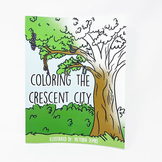 New Orleans Coloring Book - Gifts for Kids in Louisiana