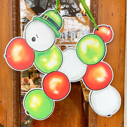 St. Patrick's Day Door Hanger Home Malone Bead Dog