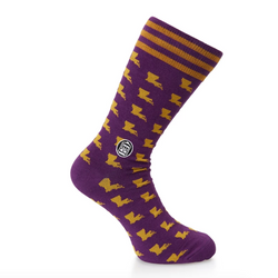 Bonfolk Socks - Louisiana Pride