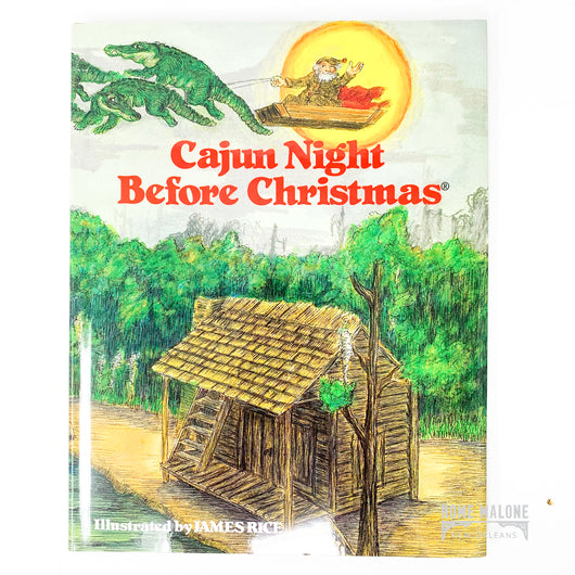 Cajun Night Before Christmas Hardcover