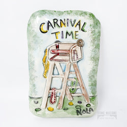 Carnival Time  Ladder Plaque