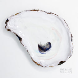 Ceramic Oyster Bowl: Deluxe
