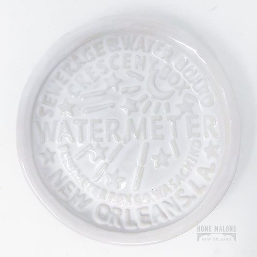 Watermeter Ceramic Dish