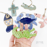 Ceramic Fish Ornament
