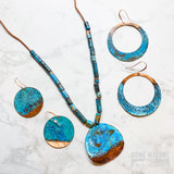High Tide Patina Dangle Earrings