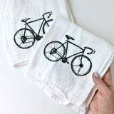 Bike Dish Towel