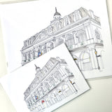 Cabildo Illustrated Print