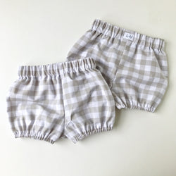 Grey Gingham Bloomer