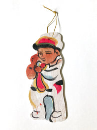 Jazz Sax Ornament