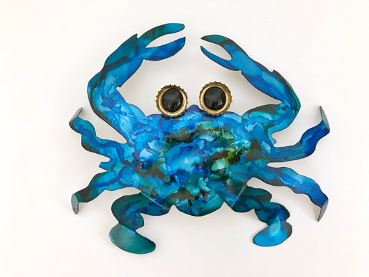 Crab Metal Art