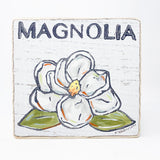 Home Malone Magnolia Wood Sign Kitchen Art