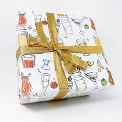 Cocktail Wrapping Paper Sheets