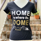 Home Is Where The Dome Is V-Neck