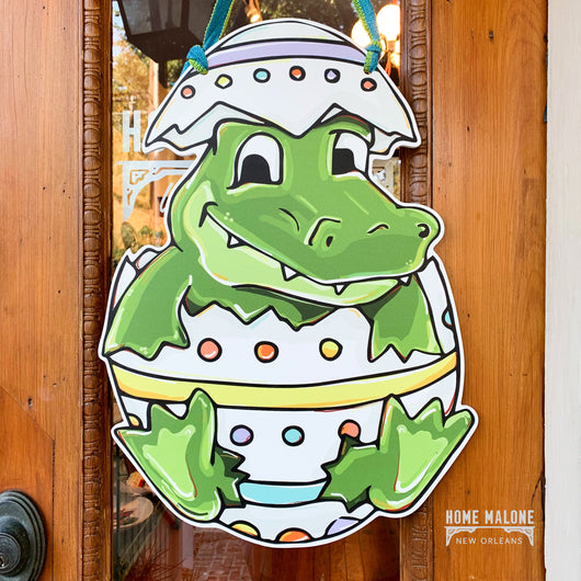 Gator Egg Door Hanger