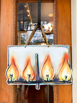Flambeaux Door Hanger