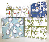 Magnolia Gift Wrap Sheet