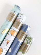 Cafe Au Lait Gift Wrap