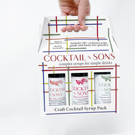 Cocktail Syrup Box Set