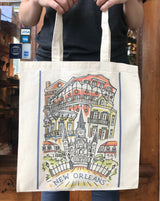 New Orleans Canvas Tote