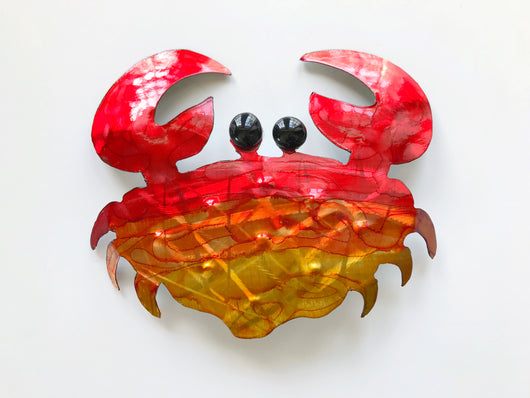 Stone Crab Metal Art
