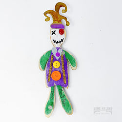 Mini Wood Jester VooDoo