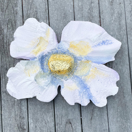 House Float Flower: White