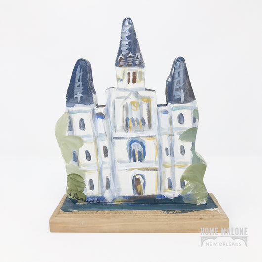 Lorraine Gendron Art - Mini St. Louis Cathedral