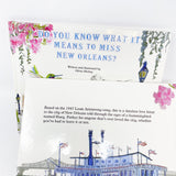 Do You Know What It Means To Miss New Orleans Children's Book