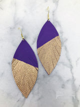 Feather Earrings.