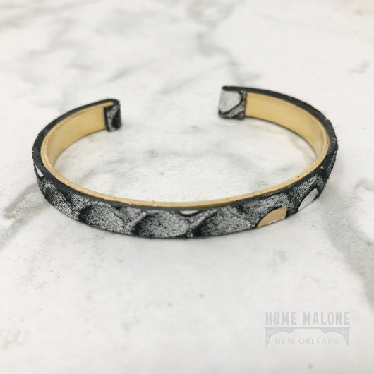 Leather Bangle Cuff