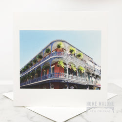 Royal Street Balcony Card