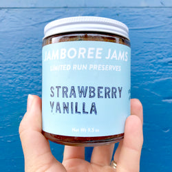 Strawberry Vanilla Jam - Jamboree Jams