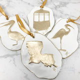 Louisiana Clay Ornament