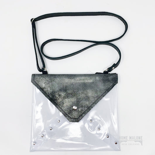 Clear Stadium Bag - Galaxy Black