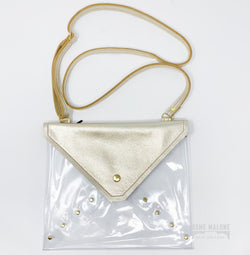 Clear Stadium Bag - Platinum