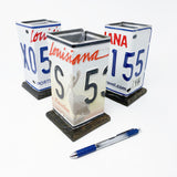 License Plate Utensil Holder